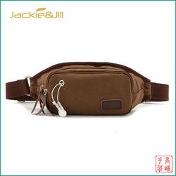 Fashion Canvas Waist Money Bags New Design Mens Bag