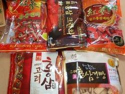 Korean Red Ginseng Snacks