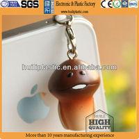 Cute Plastic headphone jack dust plug