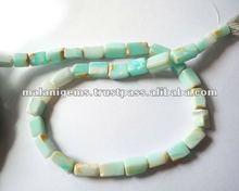 Natural Peru Opal Plain Tumble Calibrated Loose Beads