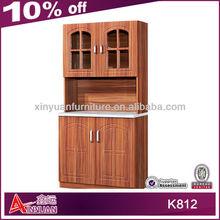 K812 popular small wooden pvc plastic kitchen cupboard