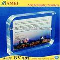 Pop acrílico placa de escrita com moldura/acrílico placa de escrita com photo frame fabricante
