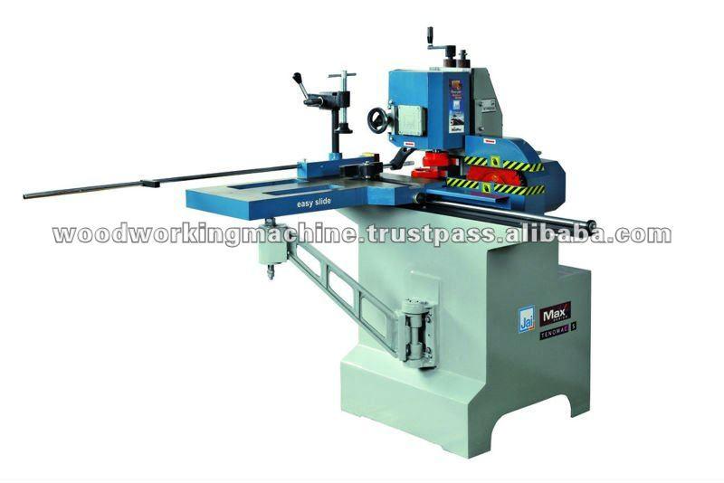 Wood tenoning machines
