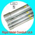 mergulho quente galvanizou tubo de metal rígido com a norma ul
