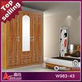 W983 hot venda e modern high end jogos de quarto madeira maciça móveis