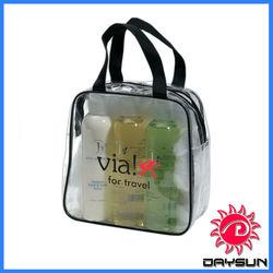 Clear PVC Toiletries travel bag
