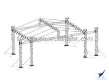 scissor truss / single mast aluminum lift table