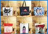 Fashion design cute canvas bag 2013 wholesale