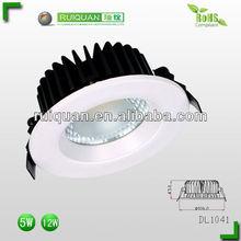 5W LED bulbs downlight AC 85-265V Glass COB Downlights
