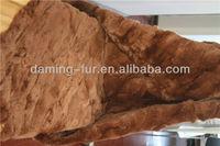 wholesale plate material /rex rabbit fur scrap /pieces plate