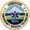 OREGON Emergency Medical Technician Badge