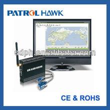 Patrol Hawk Quad security monitor working with GSM Alarm Receiver (PH-008)