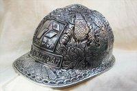GCS001.00 Helm ukir / curved helmet