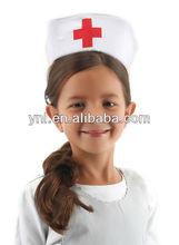 Partido enfermeira do trabalho chapéu para criança ou adulto
