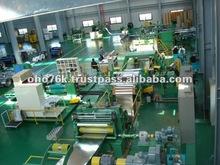 Slitting line for stainless steel