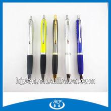Multicolor Promotional Pens Logo Fat Custom Ball Pen