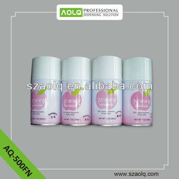 Auto spray aerosol air freshener refill 300ml for hotel