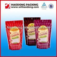 Custom plastic flexile packaging disposable food packaging
