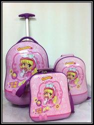 13+17 Inch Children trolley;Children school luggage