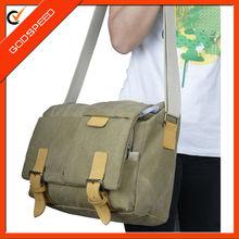 computer canvas bags/cotton shoulder bag for laptop