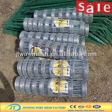 JT manufacture high tensile plastic farm fence /galvanized cheap pvc coated cattle wire mesh fence(wholesale factory price)