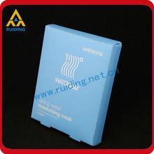 beautiful print cosmetic blister plastic case