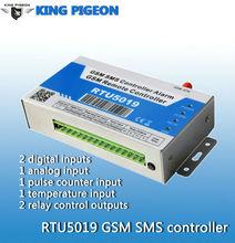 GSM security system,SMS remote industrial alarm system,GSM 433Mhz alarm sensor RTU5019