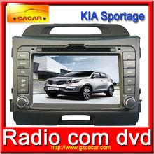 8inch kia dvd player,2 Din Touch Screen Special Car DVD Audio Player For KIA Sportag R