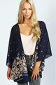 Blouses mode 2014 usine de Dongguan gros habillées blouses dames design élégant imprimé en mousseline de soie casual blouse gros