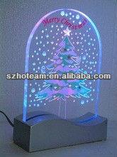 acrylic led display Christmas tree