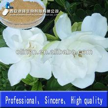 Natural Herb Geniposide powder 25% Manufacturer