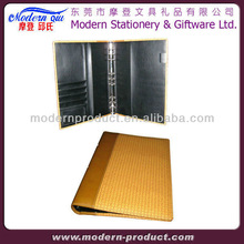 leather hard cover file folders with good quality