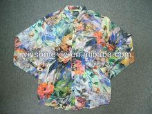 Polyester/Cotton Mens printed shirt