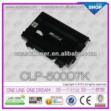 ASTA Toner cartridge high quality hot sale CLP-500 for samsung chip reset