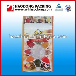HOT SALE!customized plastic dried food pouch for beef jerky