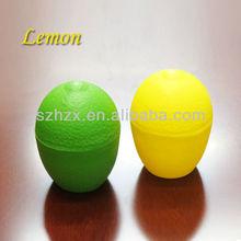 FDA&SGS PP Plastic Lemon Shape Fruit Shaped Boxes
