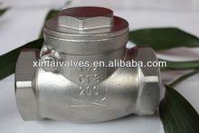 Latest version API casting steel /WCB/304/316 valve manufacturing back flow preventer