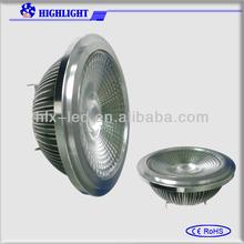 New arrival 90lm/w cob led ar111 and halogen ar111 led spotlight