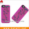 silicone phone case maker for iphone4 with embossed company logo