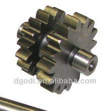 steel motorcycle primary drive shaft gear