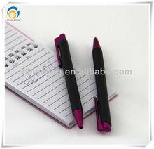 Promotion,Black Barrel,Factory Price,Plastic,Click Ball Pens