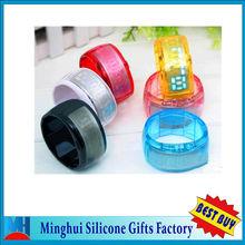 2013 new product Fashion Colorful Candy Silicon Digital LED Bracelet Wrist Watch Women Girl Boy