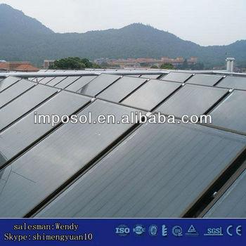 flat panles pool solar energy system&solar collector