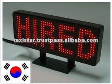 Made in Korea. Taxi Led Light