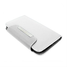 Metal Executive Pro Wallet Case for Galaxy S3 I9300 White