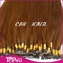 5A grade hot sale 100% virgin remy i tip pre bonded hair