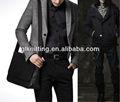 Hyl-m1305 dos homens de lã de poliéster tecido de malha para a jaqueta/blazer/terno casual