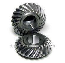 custom made steel crown and pinion gear