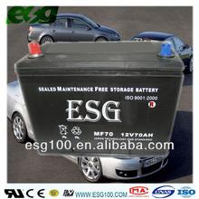Start battery MF N70 car battery