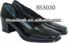 ZY,2013 fashionable low heel comfortable formal uniform ladies dress shoes